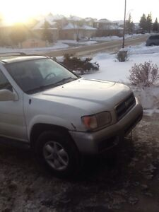1999 nissan pathfinder 4x4 strong suv no issues 283k