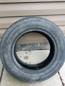 185/65 R14 General Evertek  Tire.  Good condition.   Used.