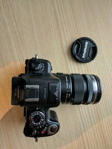 Panasonic Lumix GH2 with Olympus M 12-50mm  - good condition