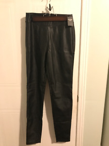 BRAND NEW Abercrombie&Fitch Leather Legging with price tag lable