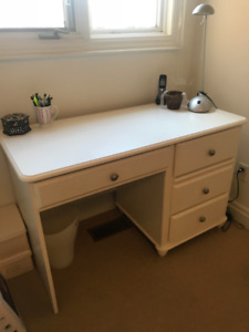 Desk and office chair - perfect condition.