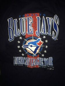Toronto blue jays American League tour XL tshirt