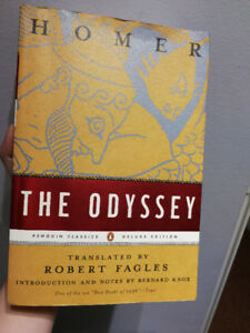 The Odyssey – Homer (Translated by Robert Fagles) ($14)