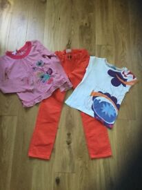 Funky top quality clothes bundle Age 7 girls, excellent unworn condition
