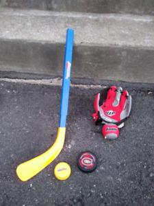 Baseball et hockey