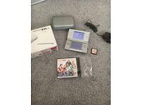 Nintendo DS lite silver