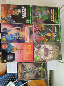Fighting Fantasy books. X6 some 1st edition