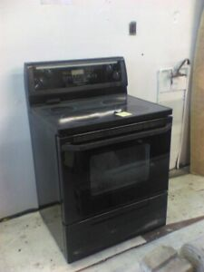 Smooth top stove
