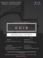 GDIB YOUTH SHOWCASE TRYOUT