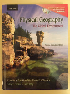Physical Geography by Peter O. Muller & Richard S. Williams Jr.