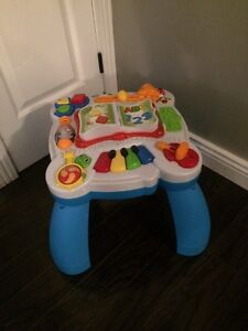 Leapfrog Learning Table: English/French