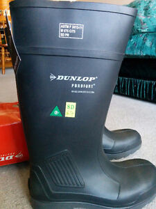 Dunlop Rubber Steel Toe Work Boots London Ontario image 8