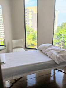 Treatment Room for rent, to an alternative medicine professional