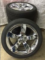 Factory OEM Mopar performance wheels and tires