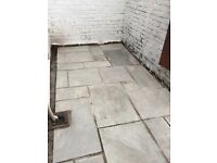 Indian stone grey paving flags
