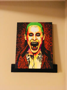 The Joker Canvas Wall Art