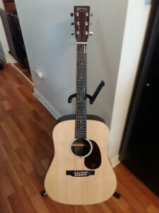 Martin Acoustic/Electric Guitar with Custom Hard Case