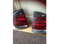 Pair of Sri rear lights vectra