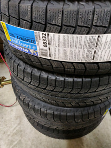 Michelin Xice Winter Tires. 225/65/17