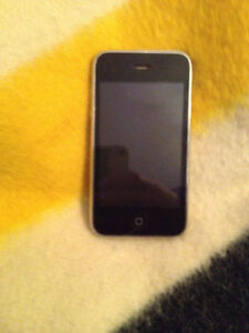 iPhone 3GS 16GB Black - Bell/Virgin. Great for an iPod!