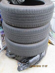 Toyo 235 55 99H set of 4 tires.