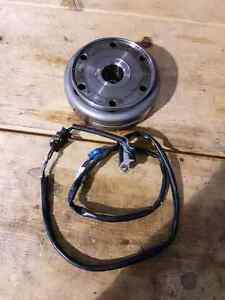 Kawasaki 750 brute force fly wheel with pickup