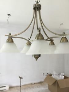 Luminaires suspendus (ensemble de 3) idéals pour cuisine