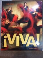 ¡Viva! Third Edition Spanish Textbook and Companion Text
