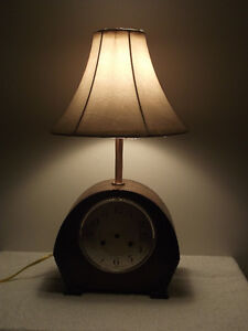 """Timeless"" Mantel Clock Reading Lamp Kingston Kingston Area image 2"
