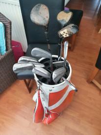 Vintage Golf Clubs £15