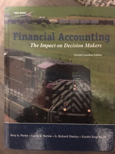 Financial Accounting Second Canadian Edition
