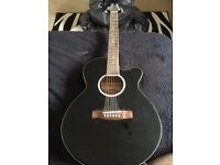Stagg electric acoustic guitar