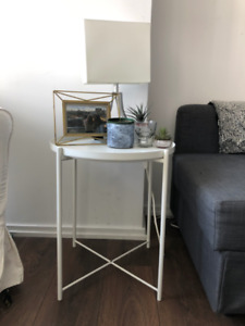 White side table for sale