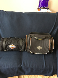 Reduce Overnight bag and rollup bag