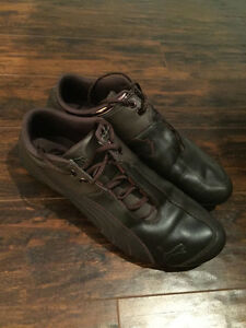 Brown Leather Puma Future Cat M1 (10.5) in Great Condition