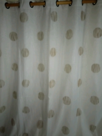 NEW JOHN LEWIS, FULLY LINED CURTAINS, WITH EYELET TOP