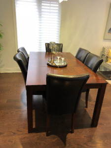 Dining Table with 6 Chairs