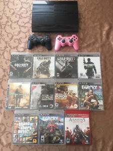 Ps3 game and controler