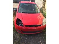 Ford Fiesta breaking mk6 2002-2008
