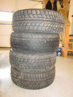 205/50R17 Winter tires, need gone, going cheap