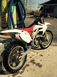 08 HONDA CRF450R FOR SALE OR TRADE