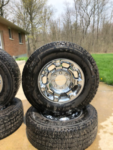 F250 F350 Rims Tires Wheels 275 70 R18