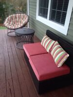 Pier1 patio set and cushions