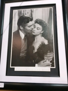 """Framed """"gone with the wind """" print R115"""