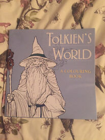 Brand New Tolkiens World adult colouring book
