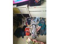 Boys baby clothes job lot desighner