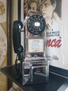 Payphone 3 slot Automatic Electric