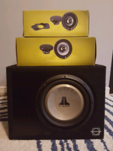 JL Audio Sub and Coaxial Speakers
