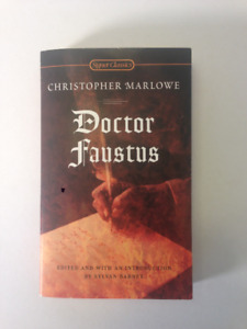 Doctor Faustus: Christopher Marlowe. Excellent Condition.