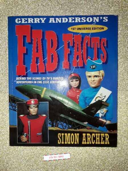 Gerry Andersons Fab Facts - Simon Archer - Thunderbirds.